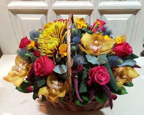 A rich autumn basket